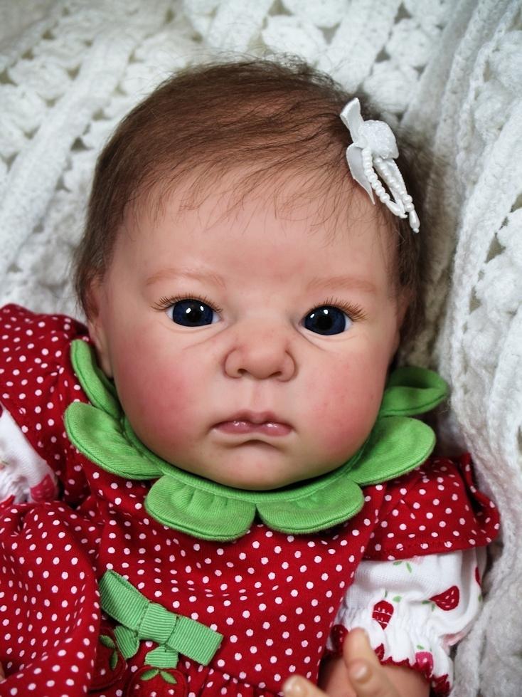 Bonnies Babies Custom Reborn Adrie Stoete 18 in Mix ...